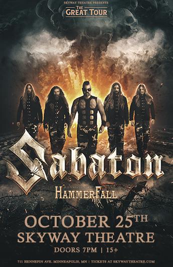 Sabaton — Skyway Theatre